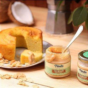 Pasta de Coco Queimado 120 ml – Pitada Natural