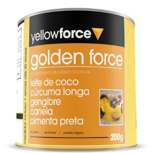 Golden Force Leite Dourado 200 g – Yellow Force