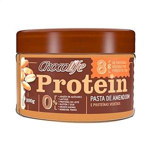 Pasta de Amendoim com Proteína 300 g – Chocolife