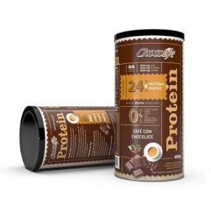 Protein Café com Chocolate 480 g – Chocolife