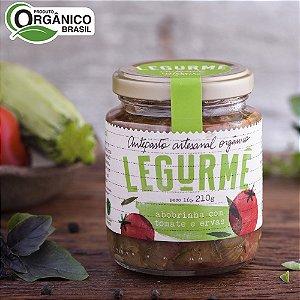 Antepasto de Abobrinha Tomate e Ervas Orgânico 210 g – Legurmê