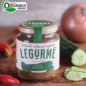Antepasto de Pepino Agridoce Orgânico 210 g – Legurmê