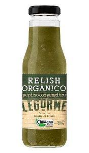 Relish de Pepino com Gengibre Orgânico 330 g – Legurmê