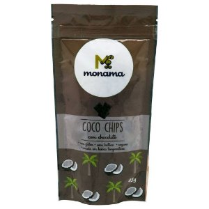 Coco Chips com Chocolate 45 g – Monama