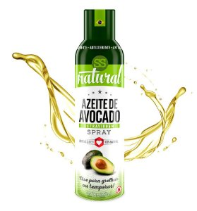 Azeite de Avocado Extravirgem Spray 128 g – SS Natural