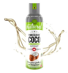 Óleo de Coco Extravirgem Spray 128 g – SS Natural