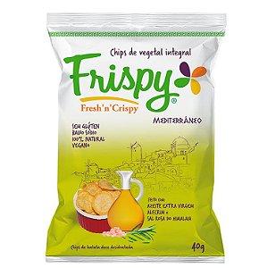Chips Vegetal Integral Mediterrâneo 40 g – Frispy