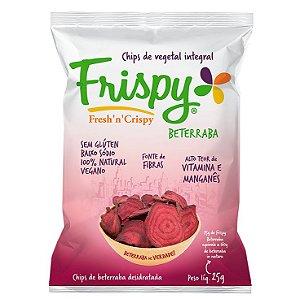 Chips Vegetal Integral Beterraba 25 g – Frispy
