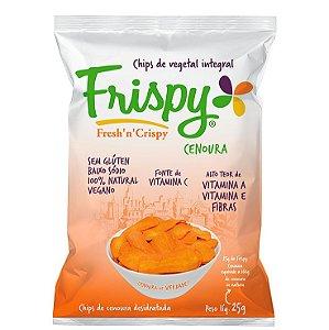 Chips Vegetal Integral Cenoura 25 g – Frispy