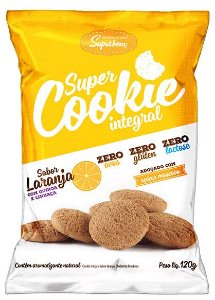 Super Cookie Integral Laranja 120 g – Superbom