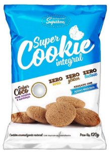 Super Cookie Integral Coco 120 g – Superbom