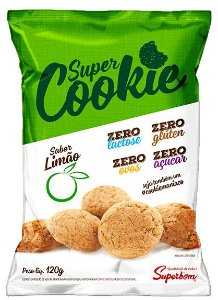 Super Cookie Zero Limão 120 g – Superbom
