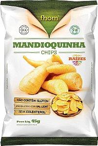 Mandioquinha Chips 45 g – Fhom