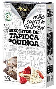Biscoito de Tapioca e Quinoa 50 g – Fhom