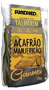Talharim Açafrão com Manjericão 200 g – Sundhed