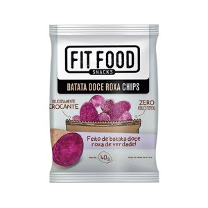 Batata Doce Chips 40 g – Fit Food