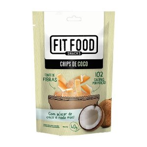 Chips de Coco 40 g– Fit Food