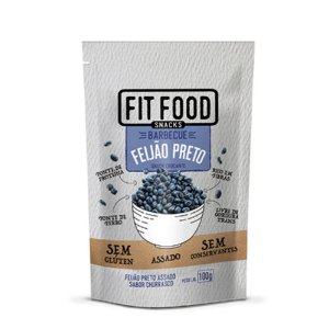Feijão Preto com Barbecue 100 g – Fit Food