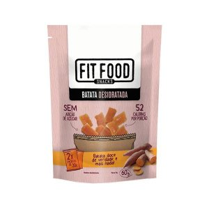 Batata Doce Desidratada 60 g – Fit Food