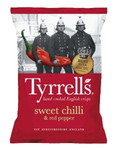 Batata Sweet Chili 150 g – Tyrrells