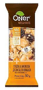 Barra de Pasta de Amendoim com Sal do Himalaia 30 g – Oner