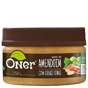 Pasta de Amendoim com Ervas Finas 250 g – Oner