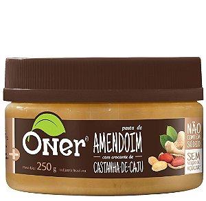 Pasta De Amendoim Crocante 250 g - Oner