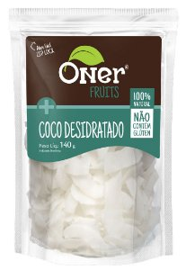 Coco Desidratado em Fitas 140 g – Oner