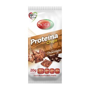 Proteína Chips Chocolate 20 g – Sora
