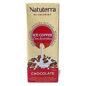 Café Gelado com Amêndoas Sabor Chocolate 200 ml – Natuterra