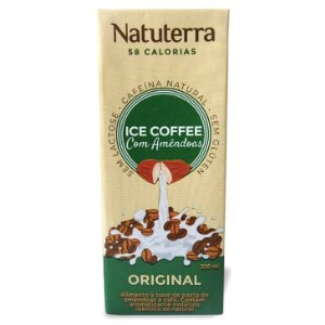Café Gelado com Amêndoas Original 200 ml – Natuterra