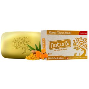 Sabonete Natural Cúrcuma – Orgânico Natural