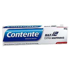 Creme Dental Max 12 Branqueador 90 g – Contente