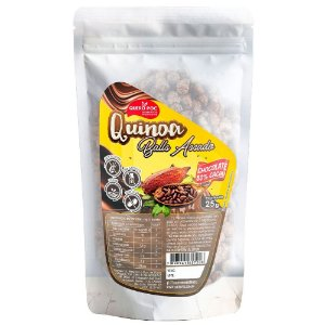 Quinoa Balls com Chocolate 60% Cacau 25 g - Quero Poc
