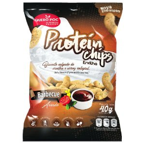 Protein Chips Ervilha BBQ – Quero Poc