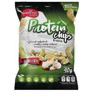 Protein Chips Ervilha Cebola e Alho – Quero Poc