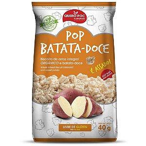 Pop Batata Doce Original 40 g – Quero Poc
