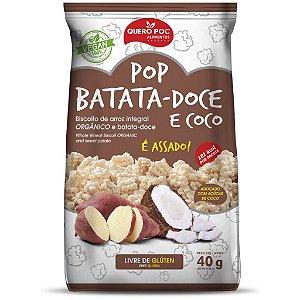 Pop Batata Doce e Coco 40 g – Quero Poc