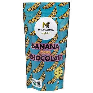 Banana com Chocolate Orgânico 100 g – Monama