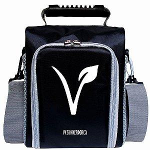 Bag Térmica Preta com Acessórios – Veganizadores