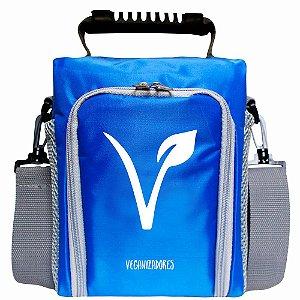 Bag Térmica Azul com Acessórios – Veganizadores