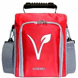 Bag Térmica Vermelha com Acessórios – Veganizadores