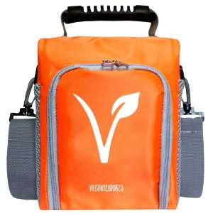 Bag Térmica Laranja com Acessórios – Veganizadores
