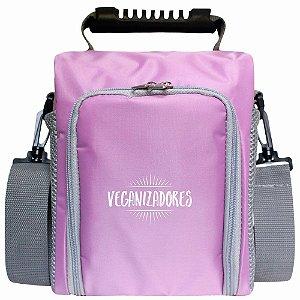 Bag Térmica Lilás com Acessórios – Veganizadores