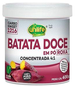 Batata Doce Roxa em Pó 400 g – Unilife
