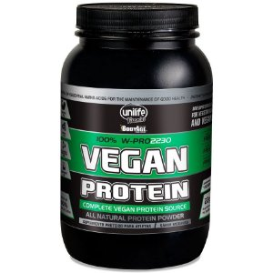 Vegan Protein 100% Sabor Morango 900 g – Unilife