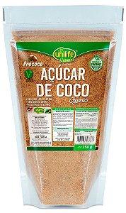Açúcar de Coco Orgânico 250 g – Unilife