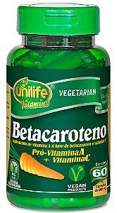 Betacaroteno 500 mg - 60 cáps – Unilife