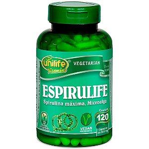 Espirulife Spirulina 500 mg - 120 cápsulas – Unilife