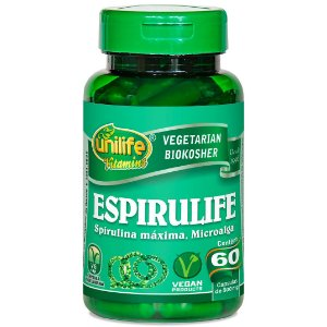 Espirulife Spirulina 500 mg - 60 cápsulas – Unilife